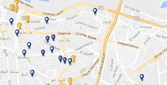 Beirut - Achrafieh - Haz clic para expandir