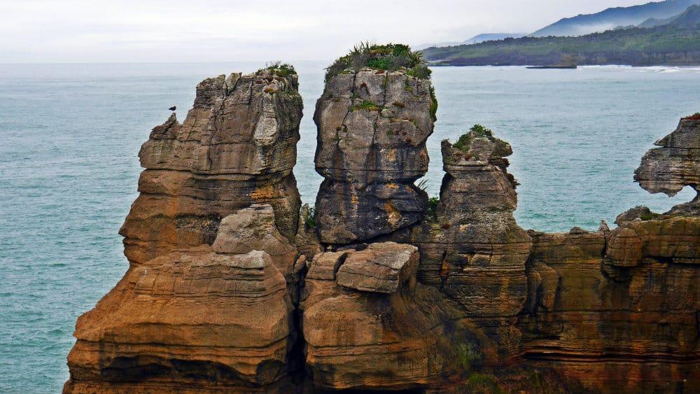 Perfiles de formaciones rocosas