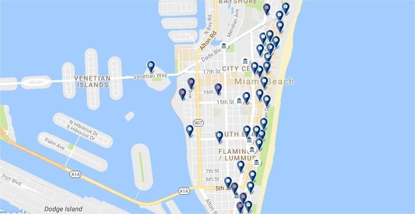 Alojarse en South Beach - Haz clic para ver todos los hoteles