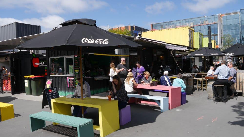 Dónde dormir en Christchurch - Centro de la ciudad