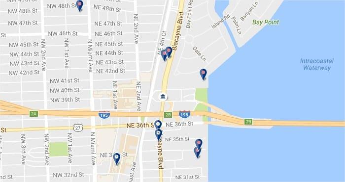 Design District Miami - Haz clic para ver todos los hoteles en un mapa