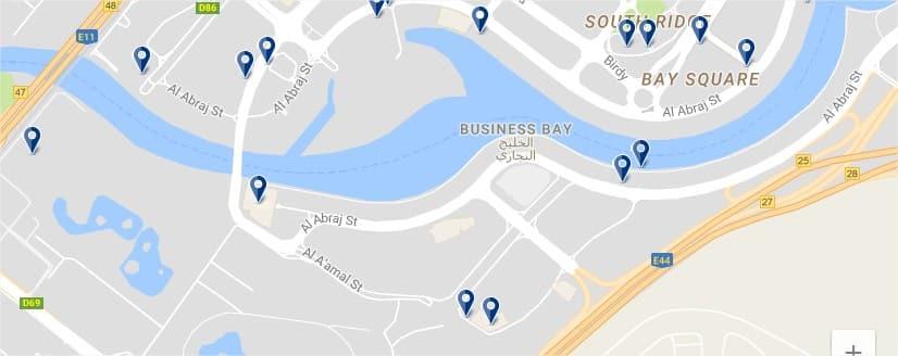 Dubai Business Bay - Haz clic para ver todos los hoteles en un mapa