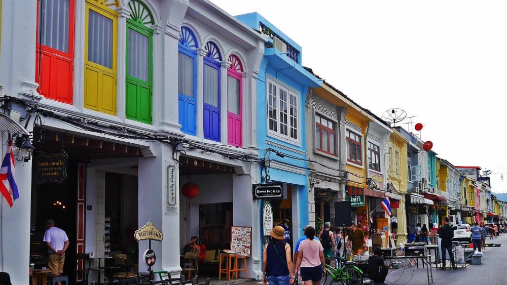 Thalang Road Phuket Town