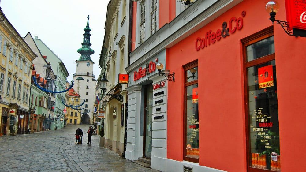 Dónde dormir en Bratislava - Staré Mesto