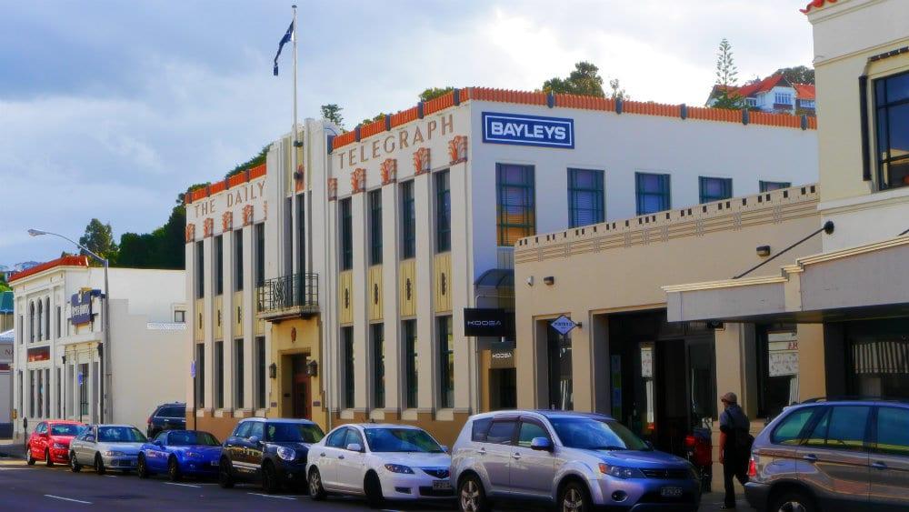 Edificio del Daily Telegraph - Napier, Nueva Zelanda