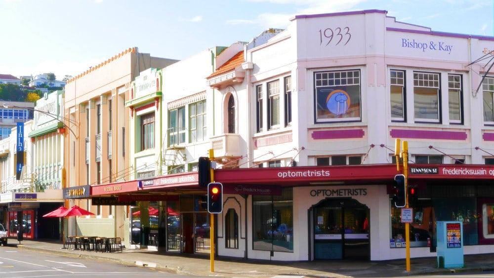 Napier - Capital mundial del Art Decó