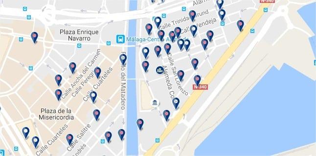 Soho - Málaga - Haz clic para ver todos los hoteles en un mapa