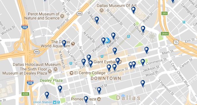 Downtown Dallas - Haz clic para ver todos los hoteles en esta zona
