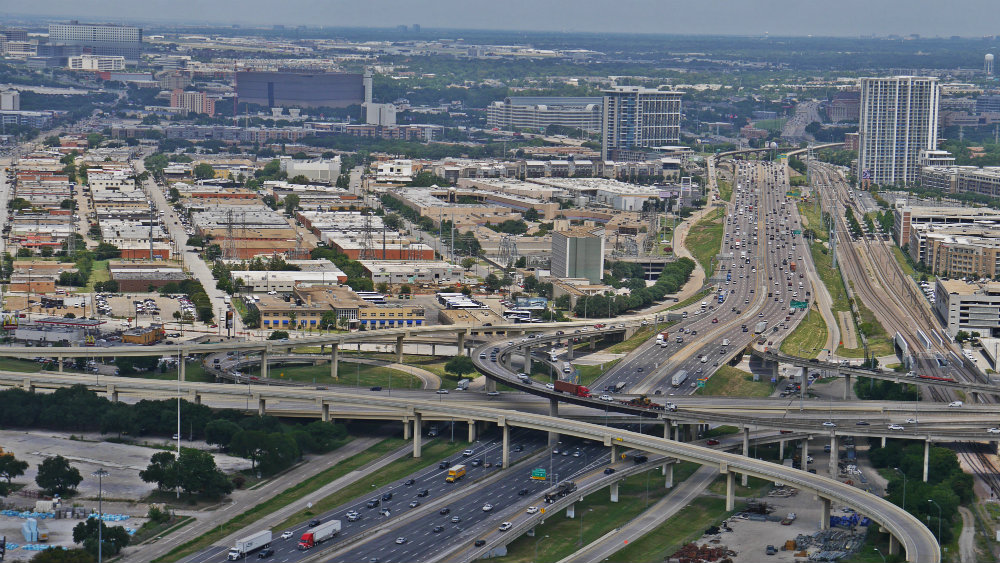 Vistas de Dallas desde Reunion Tower