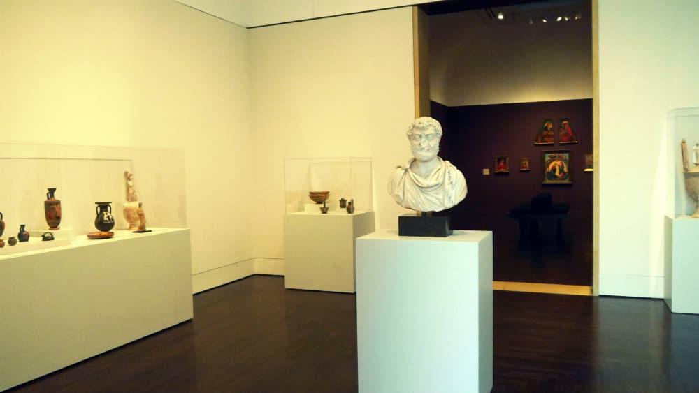 Arte clásico en el Museo de Arte Blanton - Austin, Texas