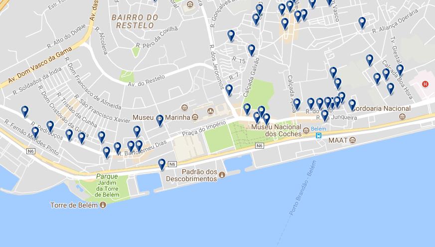 Belem - Haz clic para ver todos los hoteles en esta zona