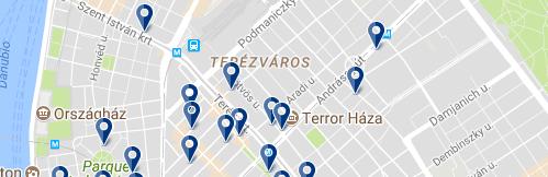 Terézváros - Haz clic para ver todos los hoteles en esta zona