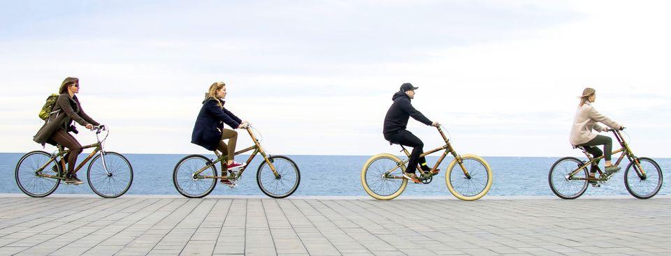 Bamboo bike Barcelona