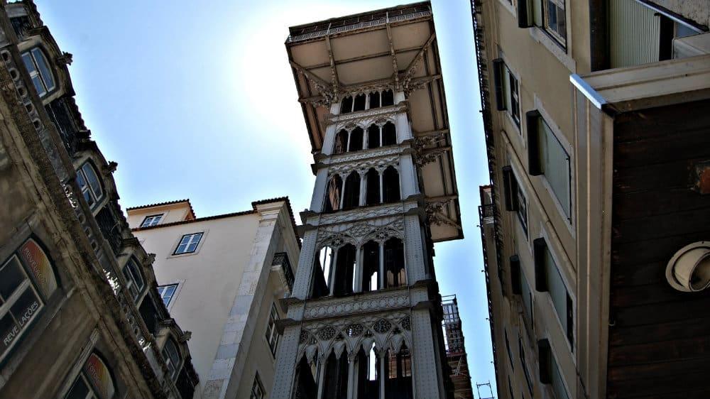 Mirador de Santa Justa - Lisboa