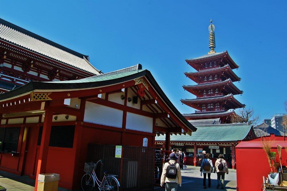 Taito, Asakusa y Ueno - Mejor distrito para dormir en Tokio