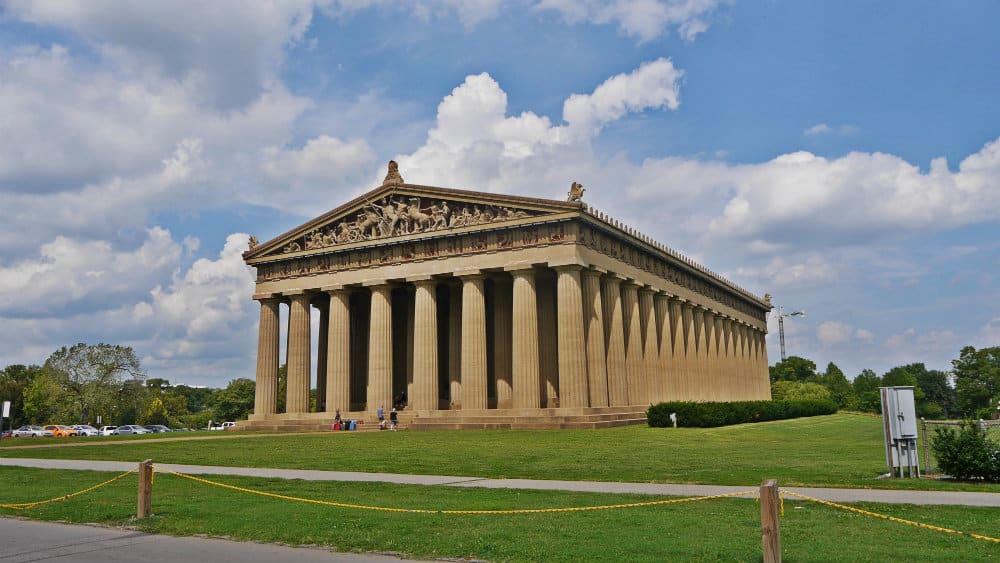 Partenón de Nashville, Tennessee