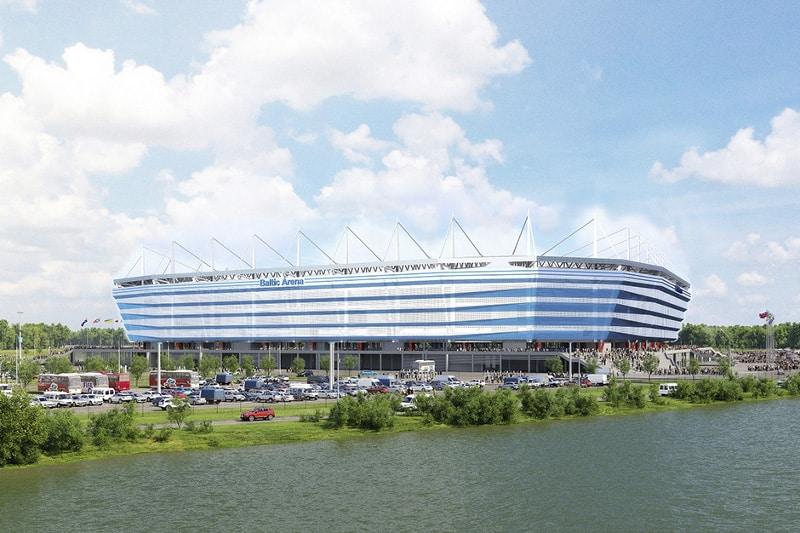 Mejores zonas donde dormir en Kaliningrado durante el Mundial - Kaliningrad Stadium