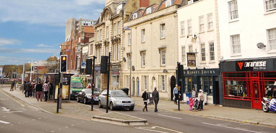 Dónde alojarse en Bristol - Old Market