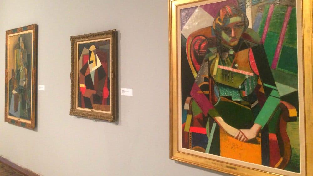 Exposición de cubismo en el Museo de Bellas Artes de Caracas