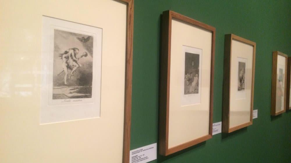 Grabados de Goya - Exposición de pintura medieval y renacentista europea - Museo de Bellas Artes de Caracas