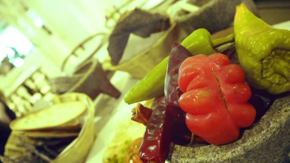 Distintos tipos de chile usados en la gastronomía mexicana