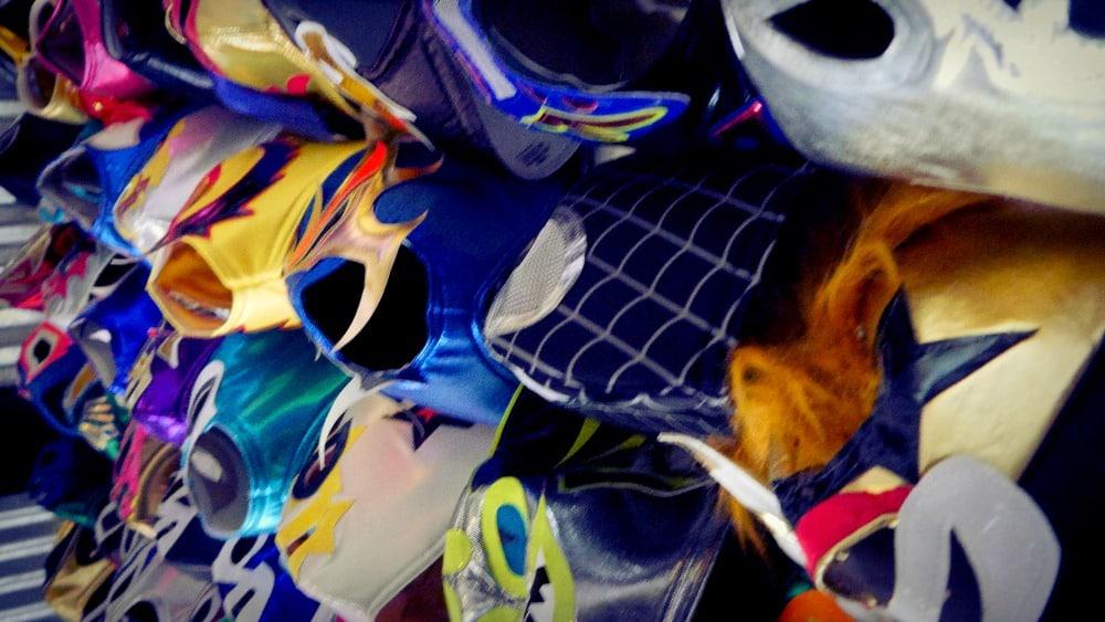 Máscaras de luchador decorativas