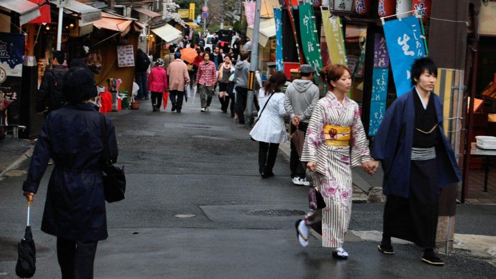 Mejores zonas donde dormir en Kioto - Gion