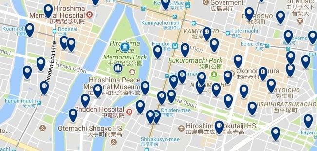 Hiroshima - Peace Memorial Park - Haz clic para ver todos los hoteles en un mapa