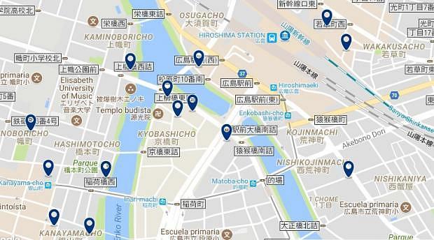 Hiroshima Station - Haz clic para ver todos los hoteles en un mapa