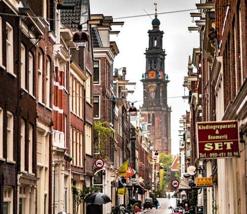 Jordaan - Mejores zonas donde dormir en Ámsterdam