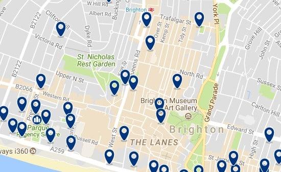 Brighton - City Centre - Haz clic para ver todos los hoteles en un mapa