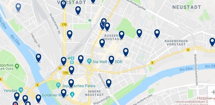 Dresden - Neustadt - Haz clic para ver todos los hoteles en un mapa