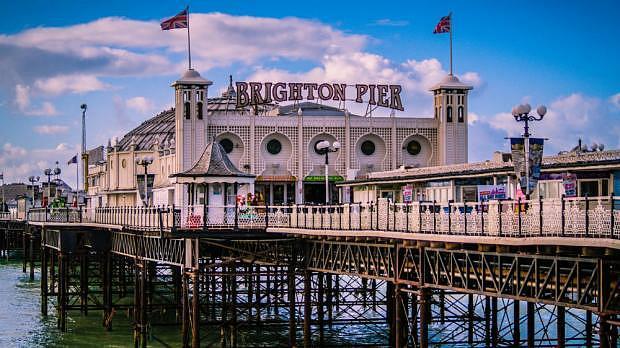 Mejores zonas donde dormir en Brighton - Seafront