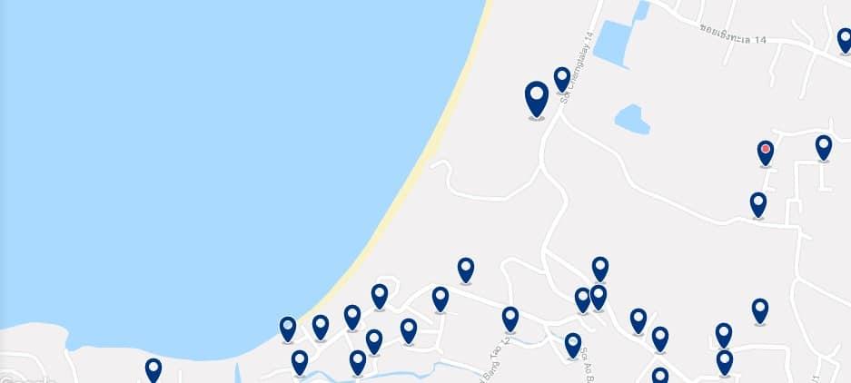 Phuket - Bang Tao Beach - Haz clic para ver todos los hoteles en un mapa