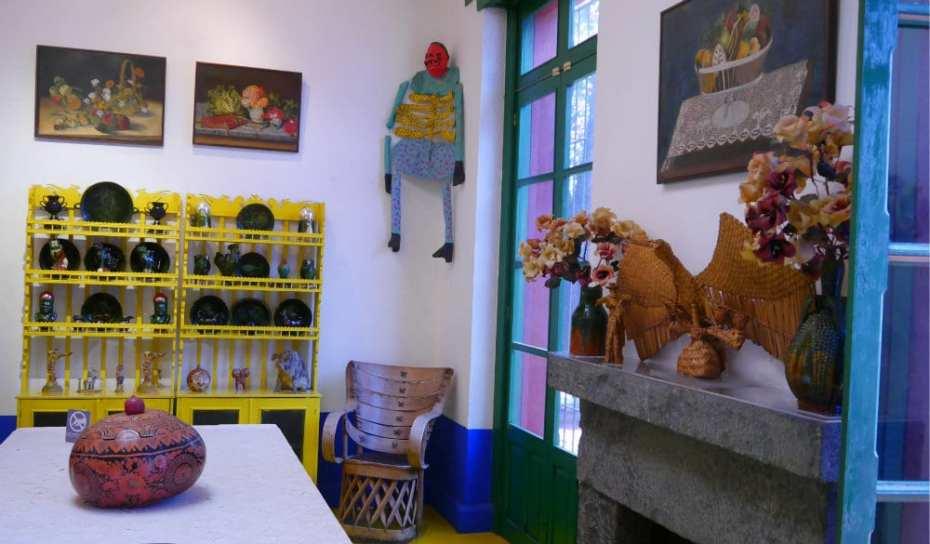 Comedor de Frida y Diego - La casa azul