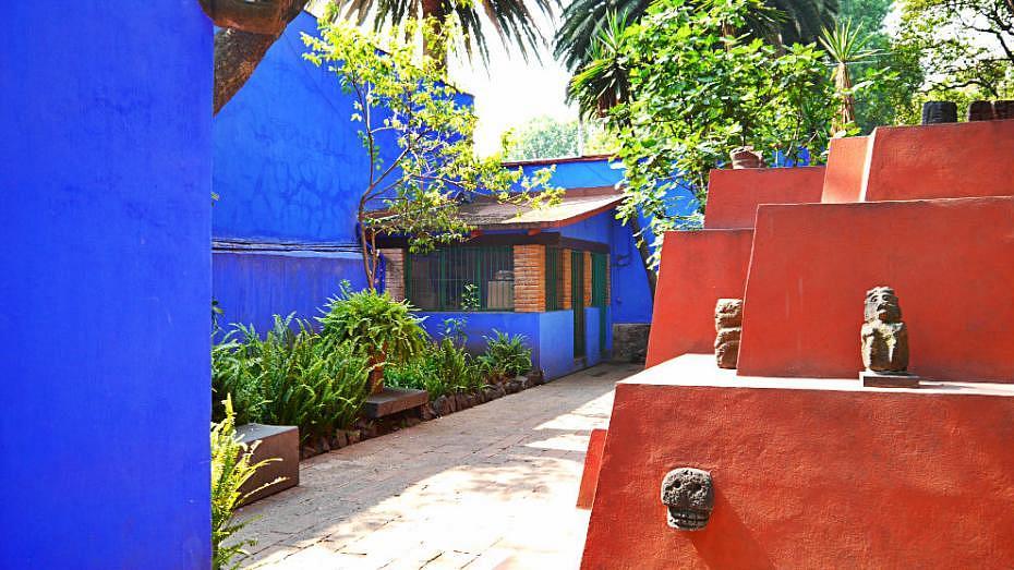 Interior de la Casa Azul - Museo de Frida Kahlo