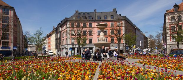 Mejor zona donde dormir en Múnich - Ludwigvorstadt – Isarvorstadt