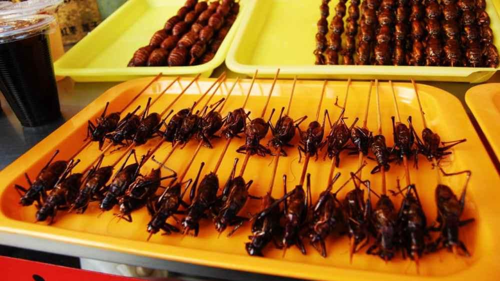 Qué hacer en Beijing en 2 días - Mercado de Wangfujing