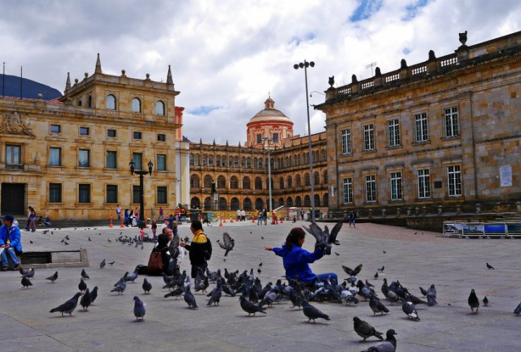 Rincones de Bogotá - Plaza de Bolívar