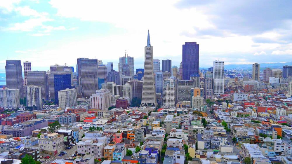 Vistas desde el mirador de la Coit Tower - Downtown San Francisco