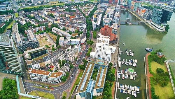 Dónde dormir en Düsseldorf, Alemania – Hafen