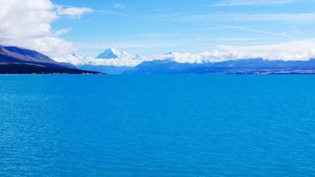 Lago Pukaki - Isla Sur, Nueva Zelanda