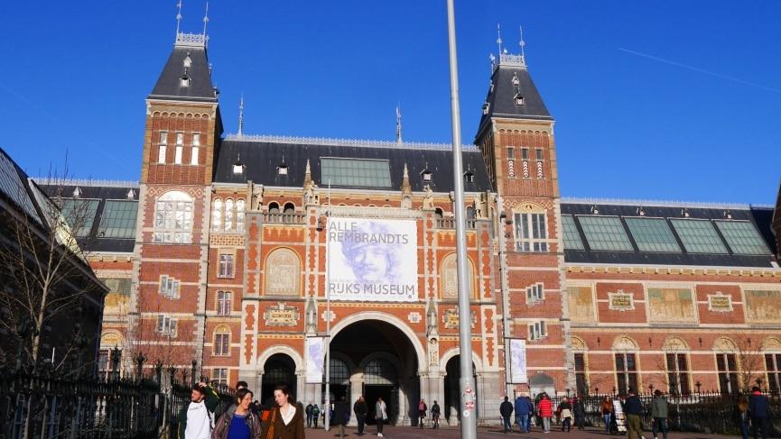Rijksmuseum - Qué ver en Ámsterdam durante una escala