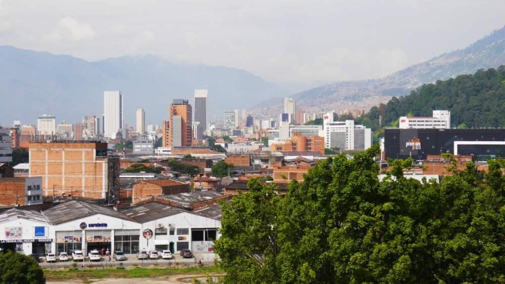 Vistas desde el Museo de Arte Moderno - Qué ver en Medellín