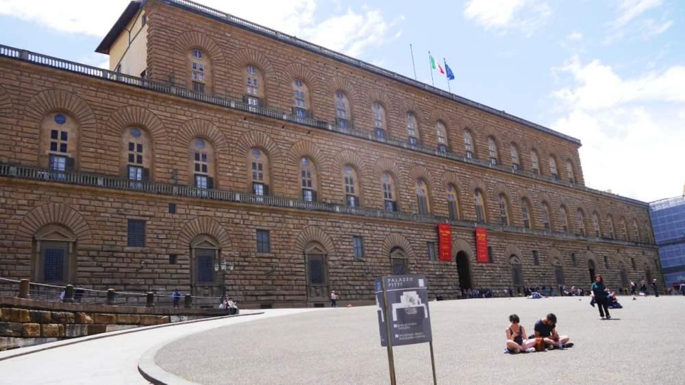 Mejores zonas donde alojarse en Florencia - Palazzo Pitti