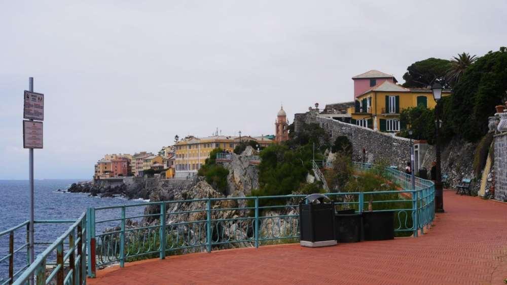 Paseo Anita Garibaldi en Nervi - Qué hacer en Génova