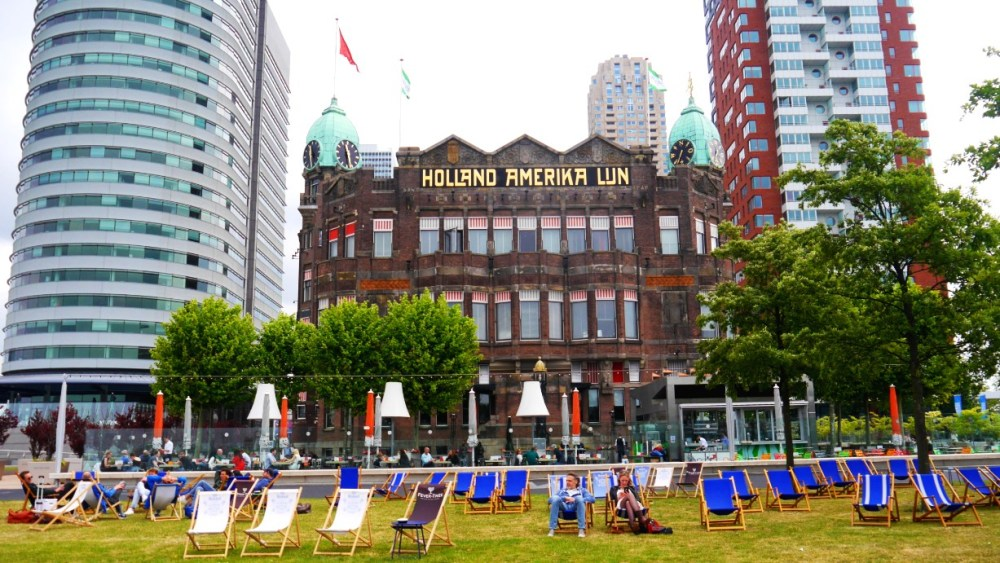 Alojarse cerca del Hotel New York - Dónde alojarse en Rotterdam, Holanda