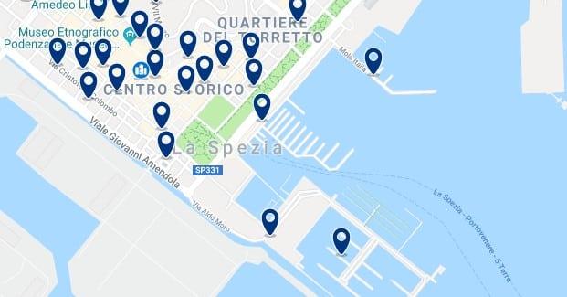 Cinque Terre - La Spezia - Haz clic para ver todos los hoteles en un mapa