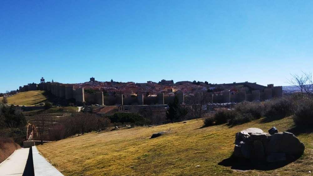 Qué ver en Ávila - Mirador de los Cuatro Postes