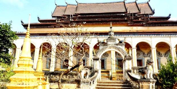 Mejores barrios donde alojarse en Siem Reap - Alrededor del Wat Bo